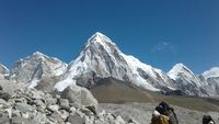 Mount Pumori in Everest area.