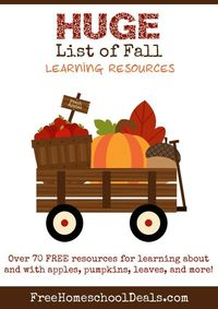 70+ Free FALL Learning Resources + Activities For Kids!!