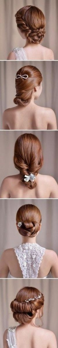 elegant wedding hairstyles top one