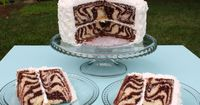 This zebra cake from My Cake School is a wild treat. Bake this cake for anyone who is an animal lover or just loves animal print. The important things about thi