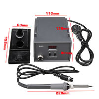 220V 60W 938D LED Digital Display Soldering Station with Soldering Iron Handle Kit