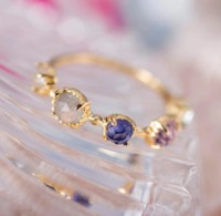 SILVER HANDMADE GOLD PLATED CRAFT RING $46.99