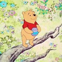 WINNIE THE POOH IS MY ABSOLUTE FAV LOOK AT THAT DARLING BBY