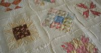 A Quilting Life: Farmer's Wife Revisited... using all Fig Tree fabrics.