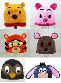 Need to find patterns for these... and someone to Crochet them for me!