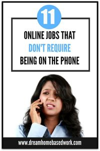 Learn about the different types of non phone jobs you can do from home. This is a very popular work at home topic that I've received many requests about. In tod