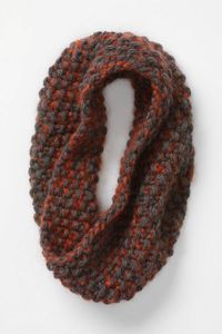 $228? Ridiculous! Seed stitch double stranded ...tres facile a tricoter