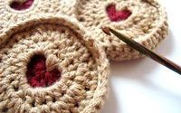 Crochet British Jammie Dodger biscuits (cookies), made popular by Doctor Who