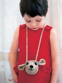 Maple - Crochet this child's teddy purse from the Baby Merino Silk DK Mini Collection, a design by Martin Storey from the Rowan archive, reworked us...