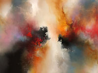 Original abstract painting 'Horizon Unbound' by award-winning artist Simon Kenny $7500.00