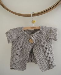 Ravelry: Double Breasted Baby Sweater pattern by Beatrice Perron Dahlen