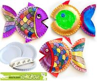 PAPERPLATE Ideas for kids: more than just fish