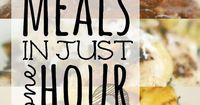 Need ANOTHER simple dinner solution for busy weeknights? This new quick & easy meal plan shows you exactly how to whip up TEN delicious dinners in about an hour