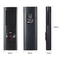 Handheld Electronic 40M Laser Distance Meter Mini Laser Rangefinder Laser Tape m/in/ft IP54 Waterproof LCD Display with Backlight