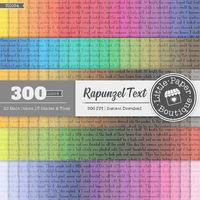 300 Text Writing Papers in 12 inch, 300 Planner Paper, Commercial Use, Scrapbook Paper,Rainbow Paper,100 Digital Papers, Text Digital Paper $6.00