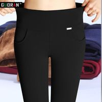 Price: $25.45 | Product: Casual High Elastic Waist stretch Skinny Pencil Pants For Women | Visit our online store https://ladiesgents.ca
