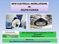 Looking forward to the 24-hour electrician, then Lighting of Tomorrow is your one-stop solution.This commercial electrical company has a decade of experience working on commercial properties. Their Electrical Service Professionals possess the full electr...