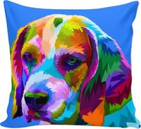 Blue Dog Couch Pillow $24.97