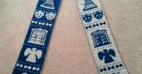 Doctor Who - Double Knit Scarf - free pattern