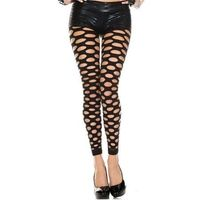 THIGHBRUSH® - Pothole Spandex Leggings - Black