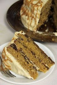 Jo and Sue: Pumpkin Gingersnap Cake With Salted Caramel Frosting