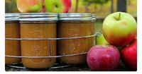 Apple Butter is a thick, spreadable, concentrated form of applesauce that has been enjoyed by people since Colonial times. Traditionally, large quantities of Ap