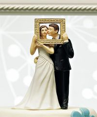 Picture Perfect Couple Figurine Cake Topper.
