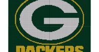 Green Bay Packers Crochet Pattern Afghan Graph
