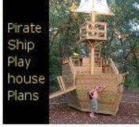 Pirate Ship Play House Plans -