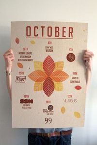 What's on October