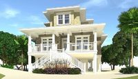 4 Bed Piling Home Plan with Great Views - 44137TD | 1st Floor Master Suite, Beach, Butler Walk-in Pantry, CAD Available, Loft, Low Country, PDF, Vacation | Architectural Designs