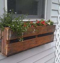 Inspiration: Pallets used for Christmas greenery