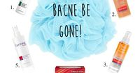 how to get rid of bacne!