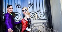 This is the wedding Gotham deserves. On Saturday, Batman-obsessed couple Al...