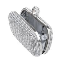 Women Diamond-studded Evening Clutch Bag