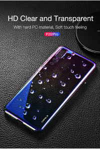 Bakeey Gradient Aurora Color Plating Shockproof PC Protective Case for Huawei P20 Pro