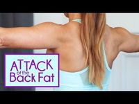 Attack of the Back Fat! | Get rid of the Bra Bulge Exercises with Natalie Jill! - YouTube