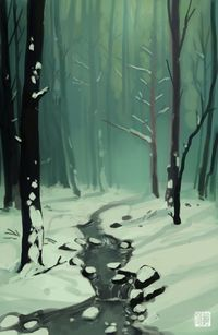 Winter Forest by tohdaryl on deviantART