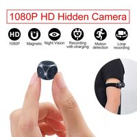 Mini 1080P Camera with Sport Bandage Camera Video Recording Night Vision Card Saving Motion Detect