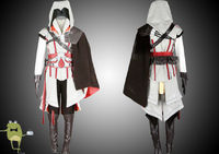 Assassin's Creed 2 Ezio Cosplay Costume for Sale