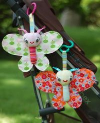 Baby Butterfly Tutorial by Abby Glassenberg {note to self: downloaded to Sewingtoyssofties}