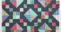 Freshly Pieced Modern Quilts: Jewel Box Quilt Tutorial in Liberty Lawn