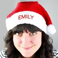 Personalised Santa Hats £10.99