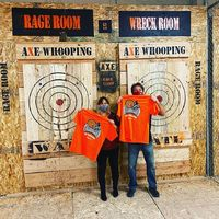 """Want to dress up in cool themes and throw some axes? Now you can @axewhooping, just leave your email address in the comments below and we will send you more info about league! See you next season �Ÿ���Ÿ�""""#hawiantropic #axethrowing #denver ..."""