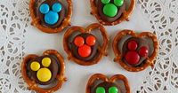 Chocolate Covered Mickey Pretzels