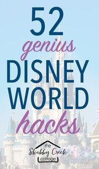 Headed to Disney World? These Disney World Hacks will help make your vacation a little more magical! #vacationplaces