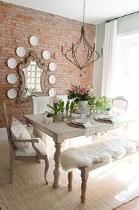 Brighten your home decor this spring with these easy to implement spring decorating ideas from my urban farmhouse spring home tour! Spring Decorating Ideas Welc
