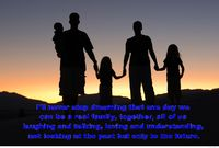 Awesome family quote portrait hd