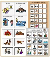 Thanksgiving Speech Games and Activities at Speaking of Speech - Pinned by