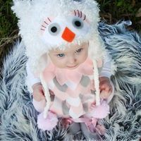 Owl Costume baby toddler girls Halloween Costume. I so wish I had time to make this but with the new baby almost here I don't think I will :(